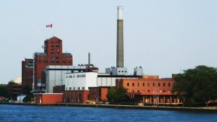 Hiram Walker & Sons' Windsor, Ont. production and bottling facility