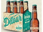 Muskoka Brewery's new brew called Detour India Pale Ale.