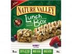 Nature Valley's peanut free Berry granola bar.