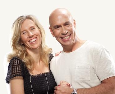 Tatiana Bossy and Bernard Le Grand, co-owners of Maison Le Grand