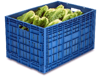 The safety of reusable plastic crates in shipping produce for Re storage crate