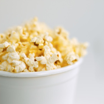 Close-up of popcorn