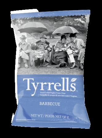BBQ Crisps Tyrrells