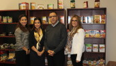 Zineb, Yousra, Majid and Houda Jamaleddine of Zinda Products.  (CNW Group/Fonds de solidarité FTQ)