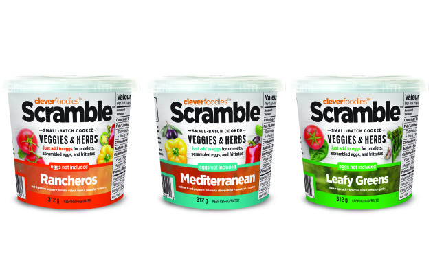 CleverFoodies Scramble-Three Flavor Lineup - English