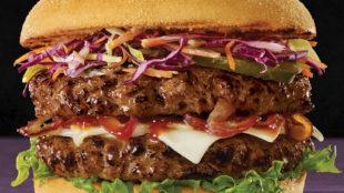 Belmont's brisket & chuck beef burger