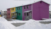 Colorful Inuvik Homes
