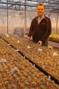 Dr. William Zvalo (photo courtesy of AgInnovation Ontario and Vineland Research and Innovation Centre)