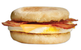 A&W English Muffin Bacon & Egger