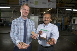 Mike Tiessen (left) and Atul Bali (right). Photo source: Martin Schwalbe for AgInnovation Ontario