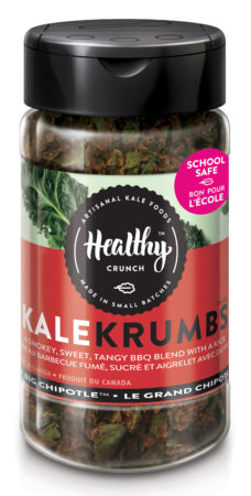 Healthy Crunch kale crumbs
