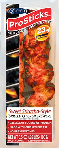 High Protein And Portable Chicken Skewers Food In Canada
