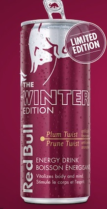red bull 39 s winter edition food in canada