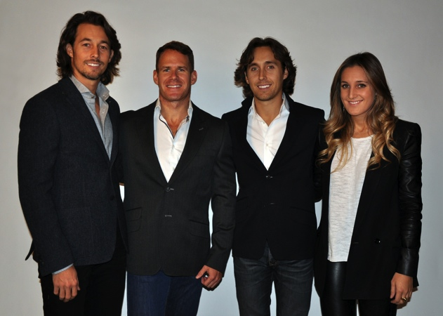 Temple Lifestyle owners (left to right) Michael Magnone, Mark Cigos, Christopher Magnone and Kaila Magnone.
