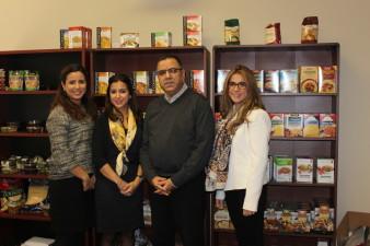 Zineb, Yousra, Majid and Houda Jamaleddine of Zinda Products. (CNW Group/Fonds de solidarité FTQ)