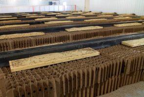 Cricket condos (photo courtesy of Entomo Farms)