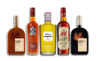 The transaction includes Domaines Pinnacle's spirits portfolio, including Ungava Premium Canadian gin brand, Chic Choc spiced rum, and a range of maple-based liqueurs including Coureur des Bois and Cabot Trail. (CNW Group/Corby Spirit and Wine Communications)