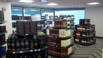World of Whisky offers over 700 whisky varieties, including exclusive products, and still provides a smaller selection of wine, spirits and beer as a convenience to members. (CNW Group/Calgary Co-Operative Association Limited (Calgary Co-op))