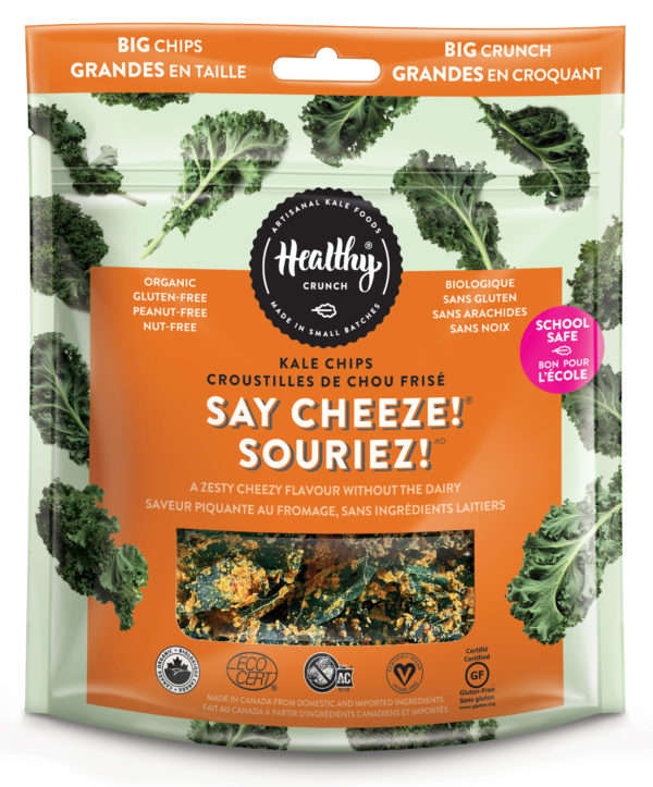 Healthy Crunch Kale Chips
