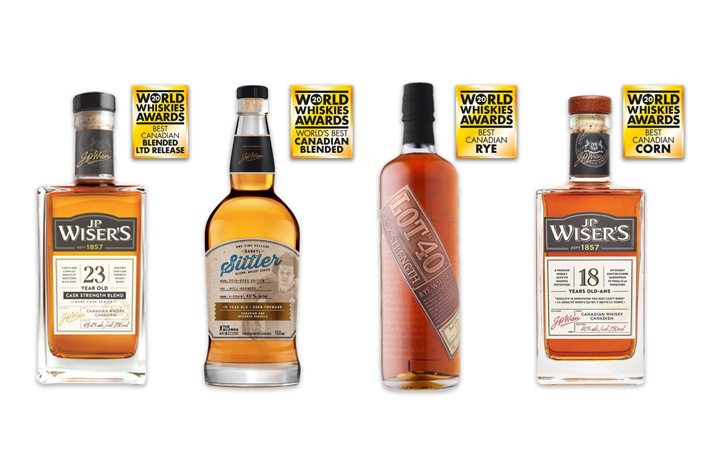 Corby's Canadian whiskies earn acclaim on global stage