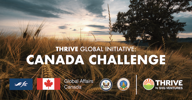 SVG Ventures/THRIVE partners with Farm Credit Canada to accelerate Canadian agri-food innovations