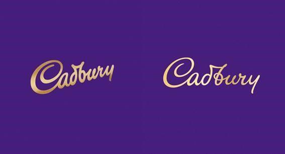 Cadbury Canada's new look