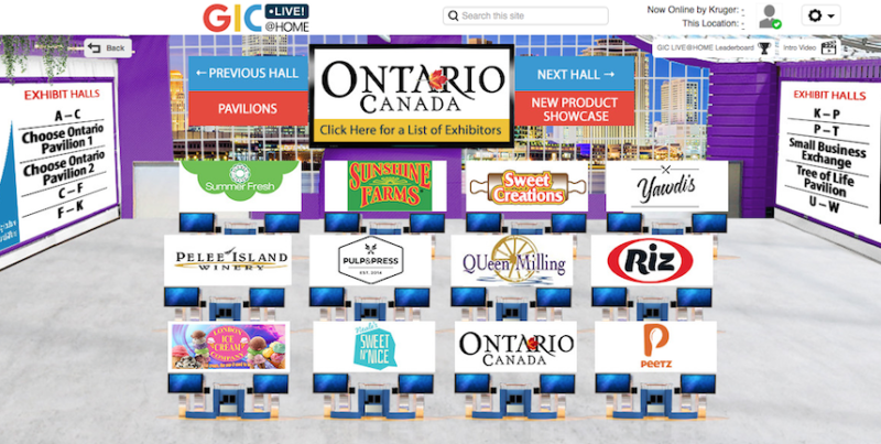 GIC virtual trade shows